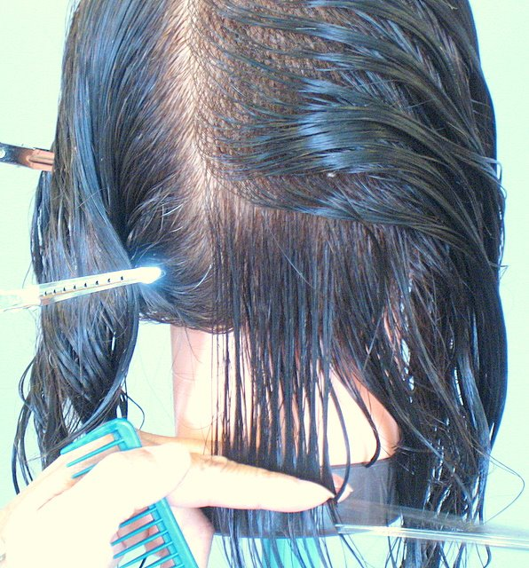 How To Cut One Length Cut Step By Step | LONG HAIRSTYLES