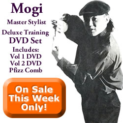 Mogi Master Hair Stylist Training DVD Set