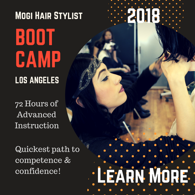 2018 June Hair Stylist Bootcamp Education Class