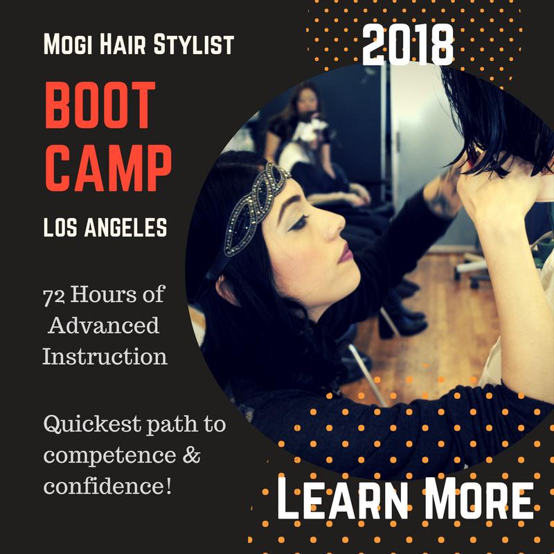 2018 September Mogi Master Hair Stylist Class